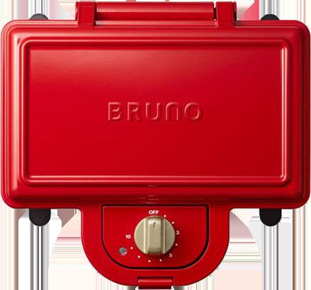 BRUNO ホットサンドメーカー BOE044RB