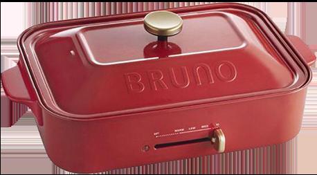 BRUNO ホットプレート BOE021-RD