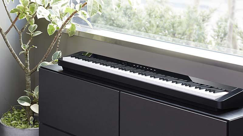 CASIO PX-S1000:自由なスタイルで弾けるコンパクトピアノ