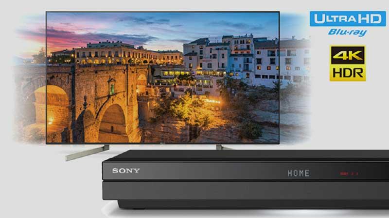 4K映像を収録できるブルーレイディスク「Ultra HDブルーレイ」再生対応