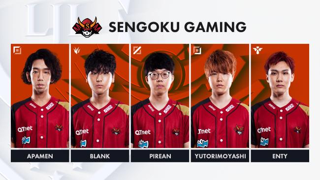 2位「Sengoku Gaming(SG)」