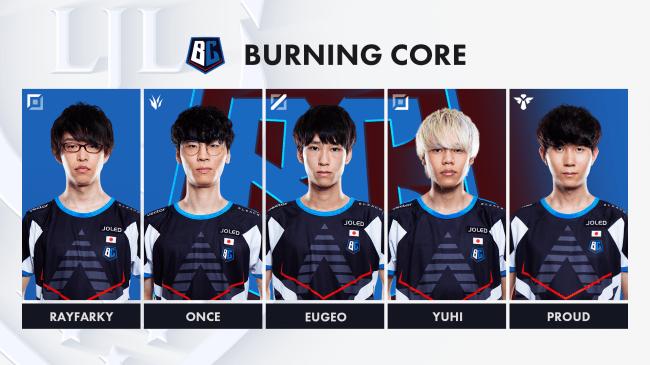 6位「Burning Core(BC)」