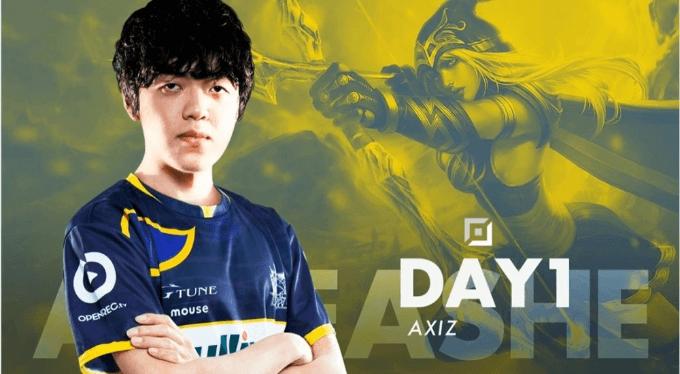 AXIZ Day1選手