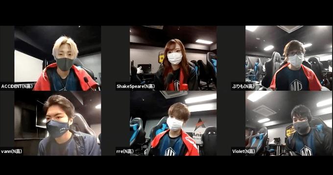 優勝校 角川ドワンゴ学園N高等学校「KDG N1」インタビュー