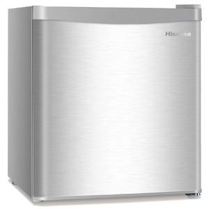 ハイセンス 【右開き】42L 1ドアノンフロン冷蔵庫 シルバー HRA42JWS