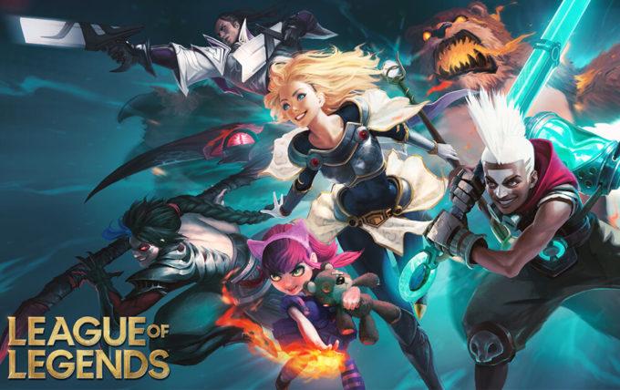 5位 League of Legends 288万ドル(約3億円)