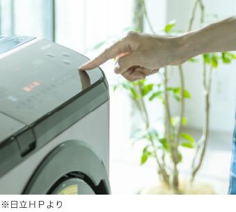 ●洗濯物を入れてスタートボタンを押すだけの手間いらず
