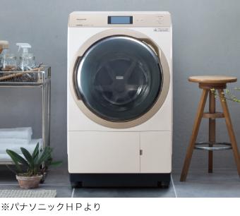 ドラム式洗濯機の特長