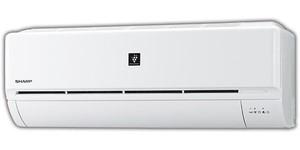 シャープ KuaL プラズマクラスターエアコン ホワイト AY22NDE9S